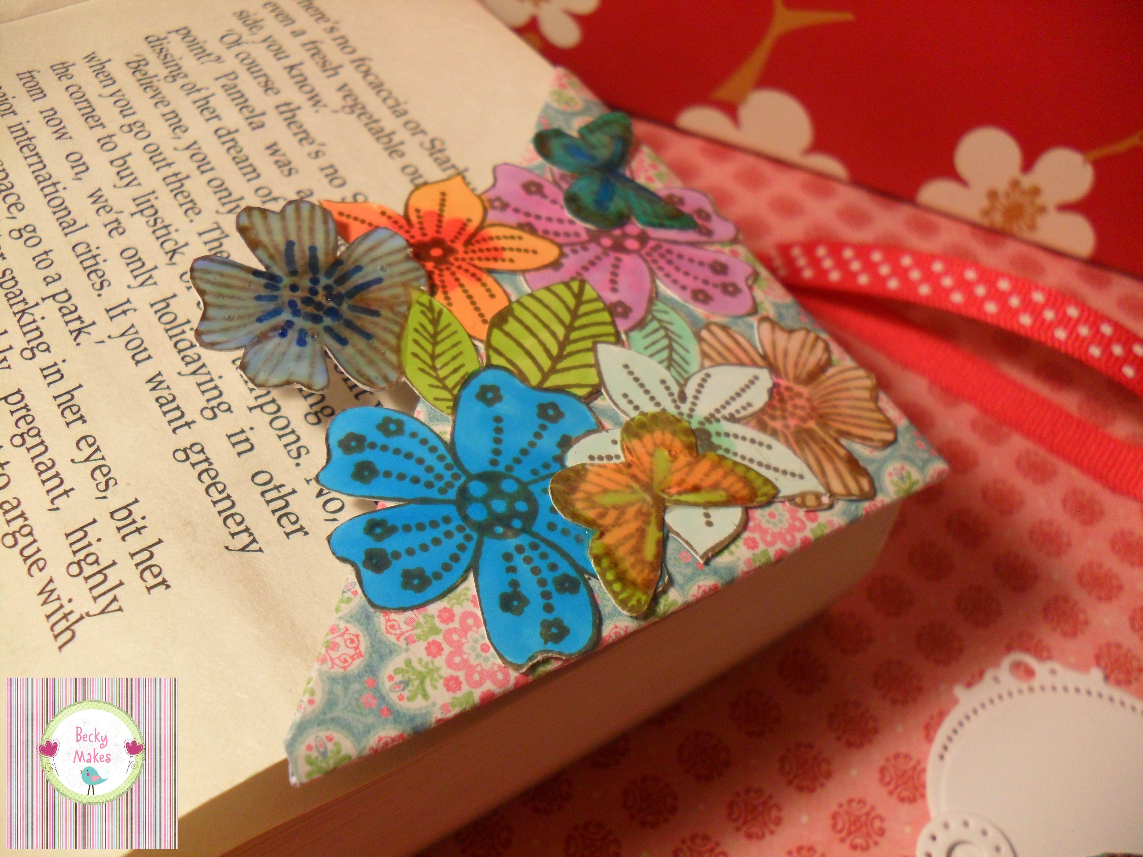 Handmade Corner Bookmark