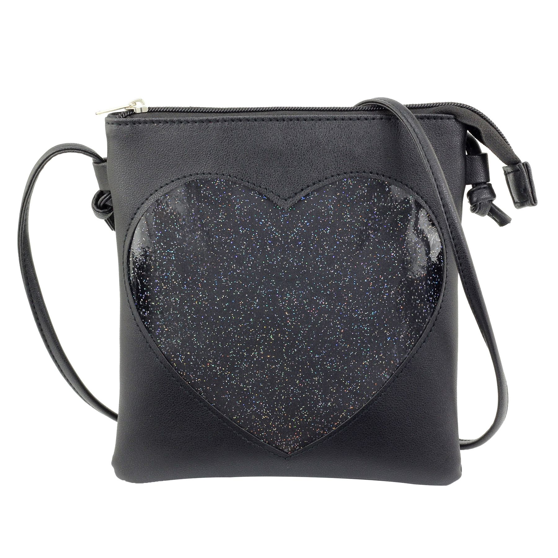 Ita Bag Heart Crossbody Bags for Women Girls Small Clear