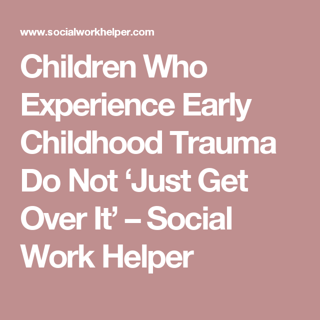 how to cope with childhood trauma