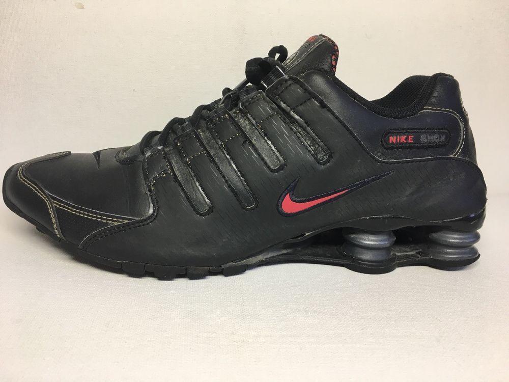 Nike Shox NZ Mens sz 10.5 Premium Running Shoes Black 378341-017  fashion   ec3973108