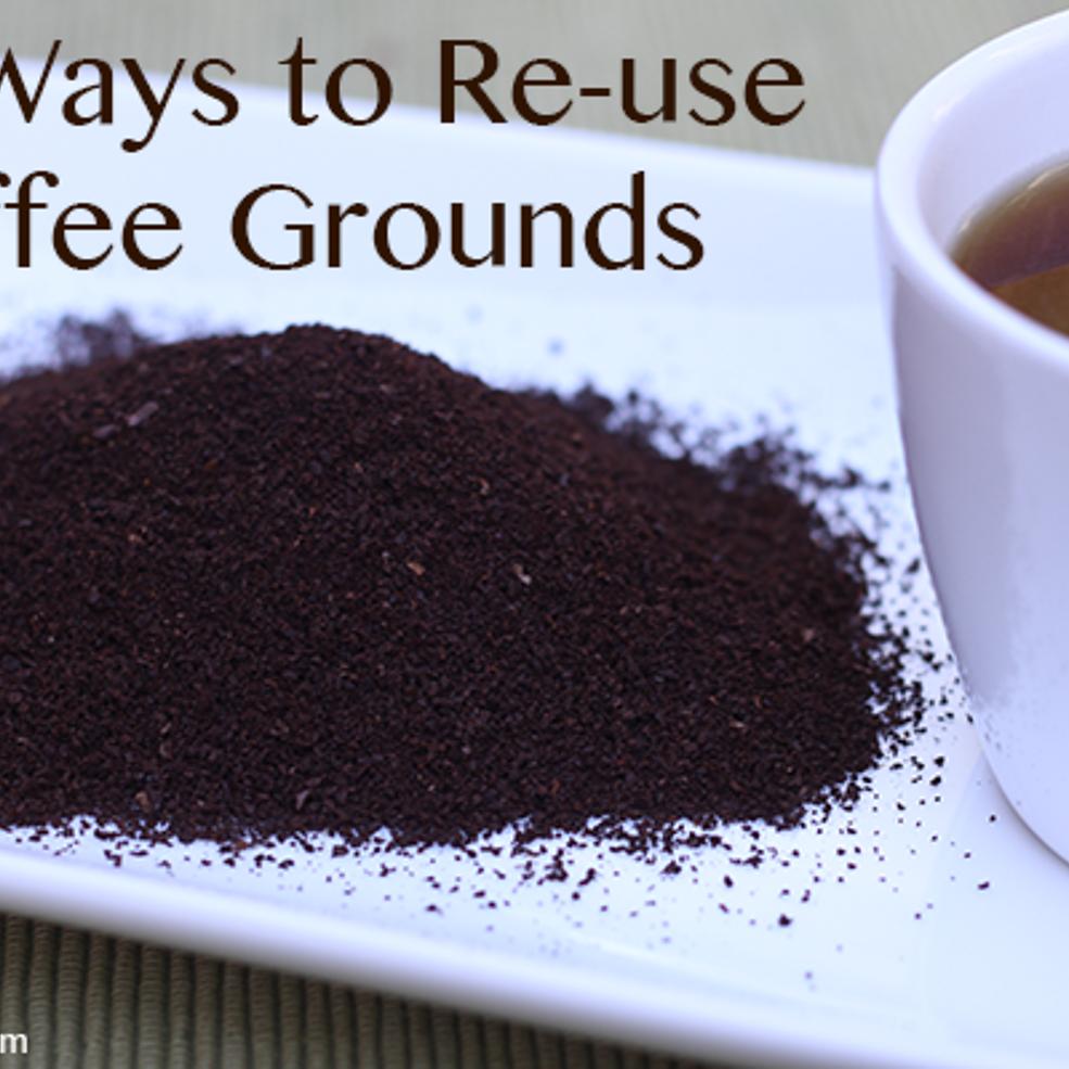 ways to use coffee grounds