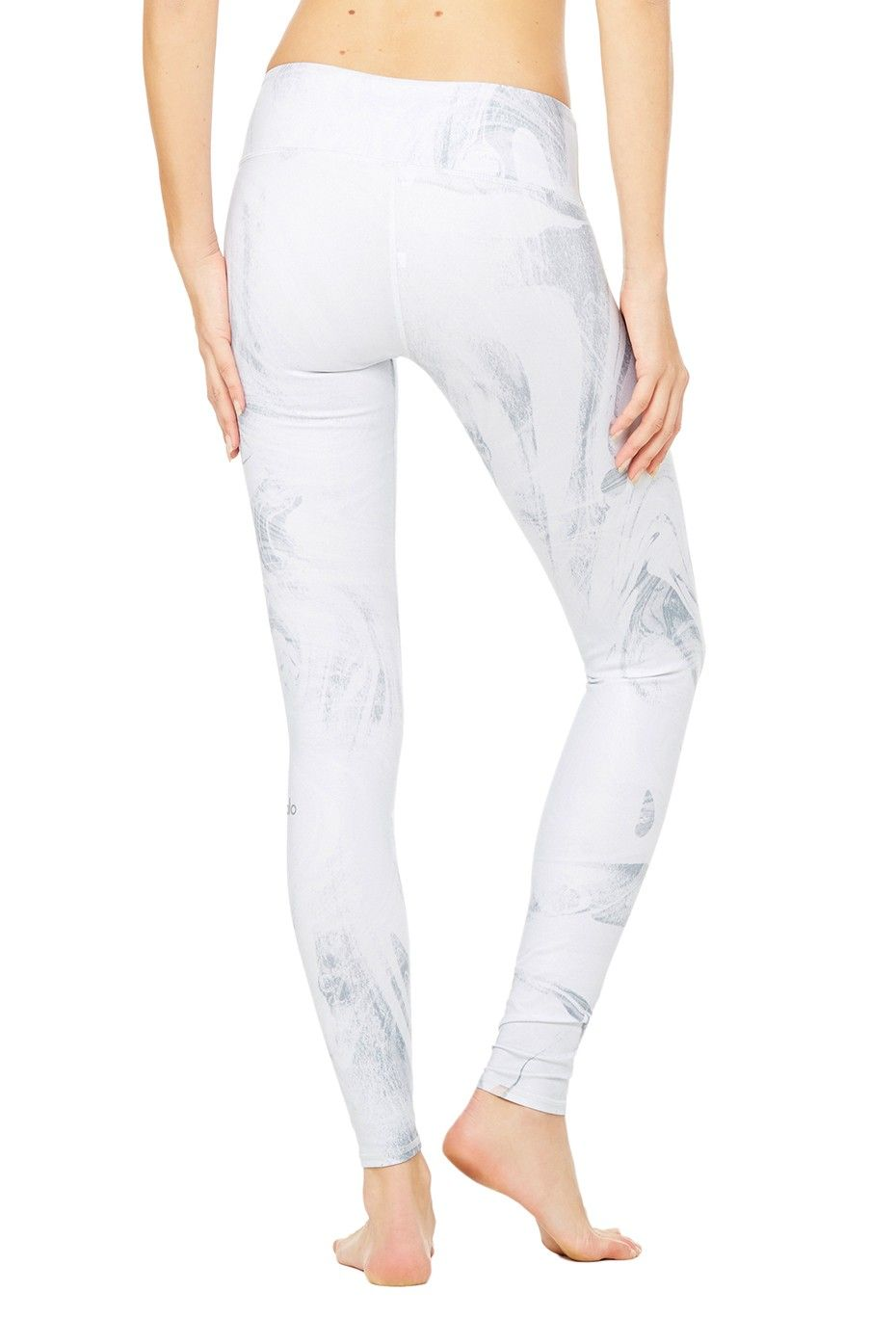 9394f1900207be Airbrush Legging - White Marble Glossy - Airbrush - Collections at ALO Yoga