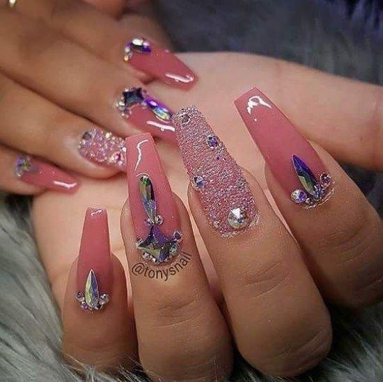 Trendy gel nail 2018 – best Instagram nail art | Acrylic ...