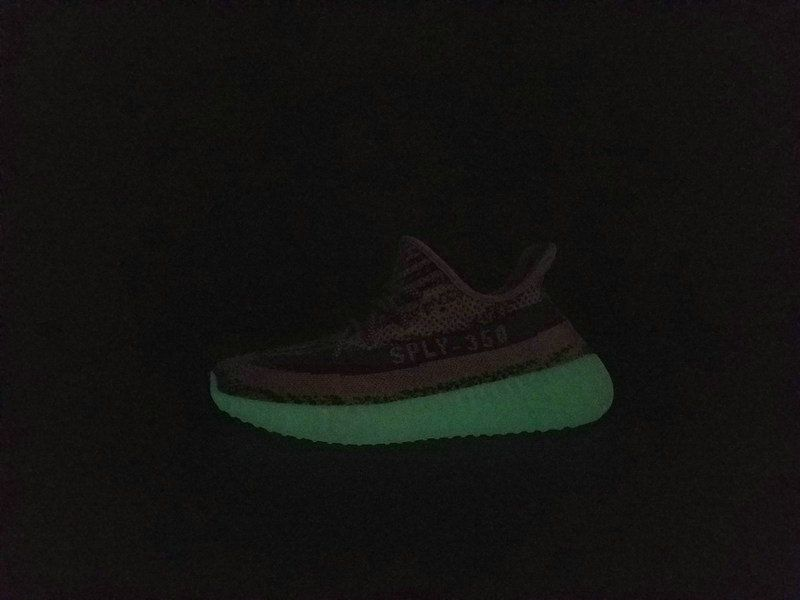 size 40 50a89 68685 2018 Original 2018 Adidas Yeezy Boost 350 V2 Glow In Dark BB1829 BY1604  Truth Boost Real Boost