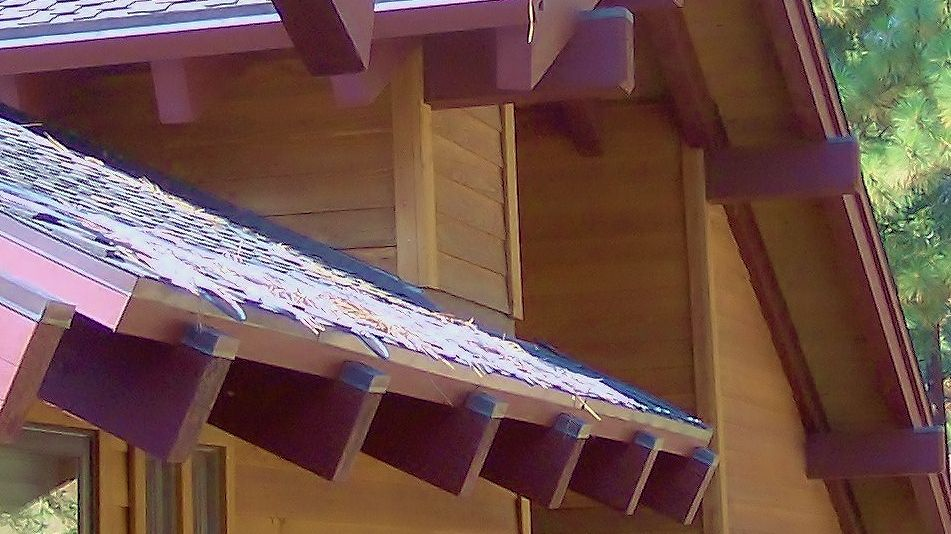 Sheet Metal Caps Beams Mountain Home Sheet Metal
