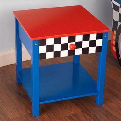 Race Car Side Table - 76041 - About KidKraftKidKraft is a leading creator, manufacturer, and distributor of children's furniture, toy, gift and room accessory i...