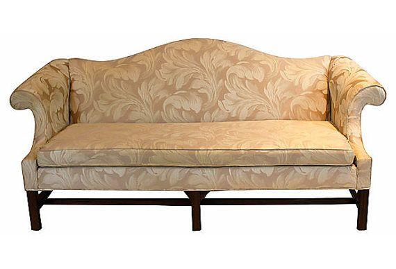 Ethan Allen Camelback Sofa By Soulandlovedesigns On Etsy 725 00