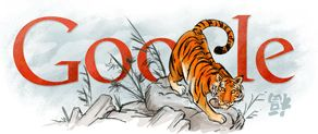 Google Doodle: Chinese New Year 2010   Google doodles, Lunar new ...