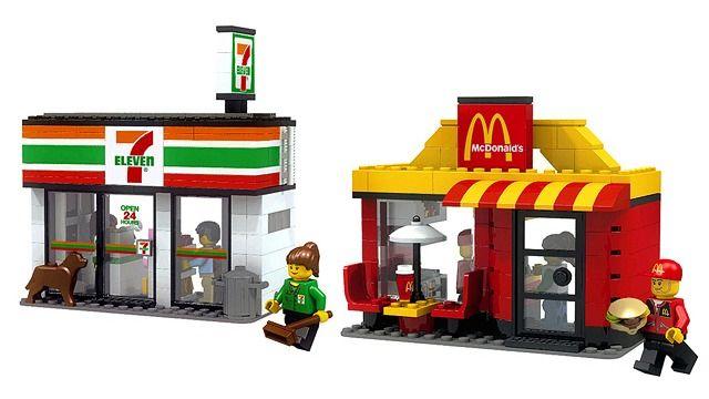 Lego 7-Eleven & McDonald's
