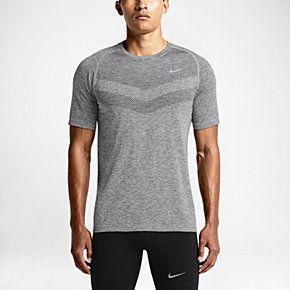 new style 0538a 7345a Nike Dri-FIT Knit Short-Sleeve Men s Running Shirt. Nike.com (UK)