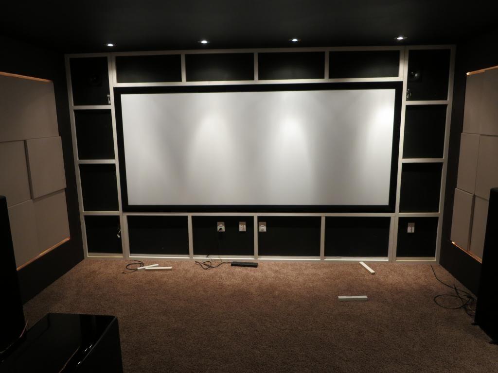 Minimalist Approach To Screen Wall