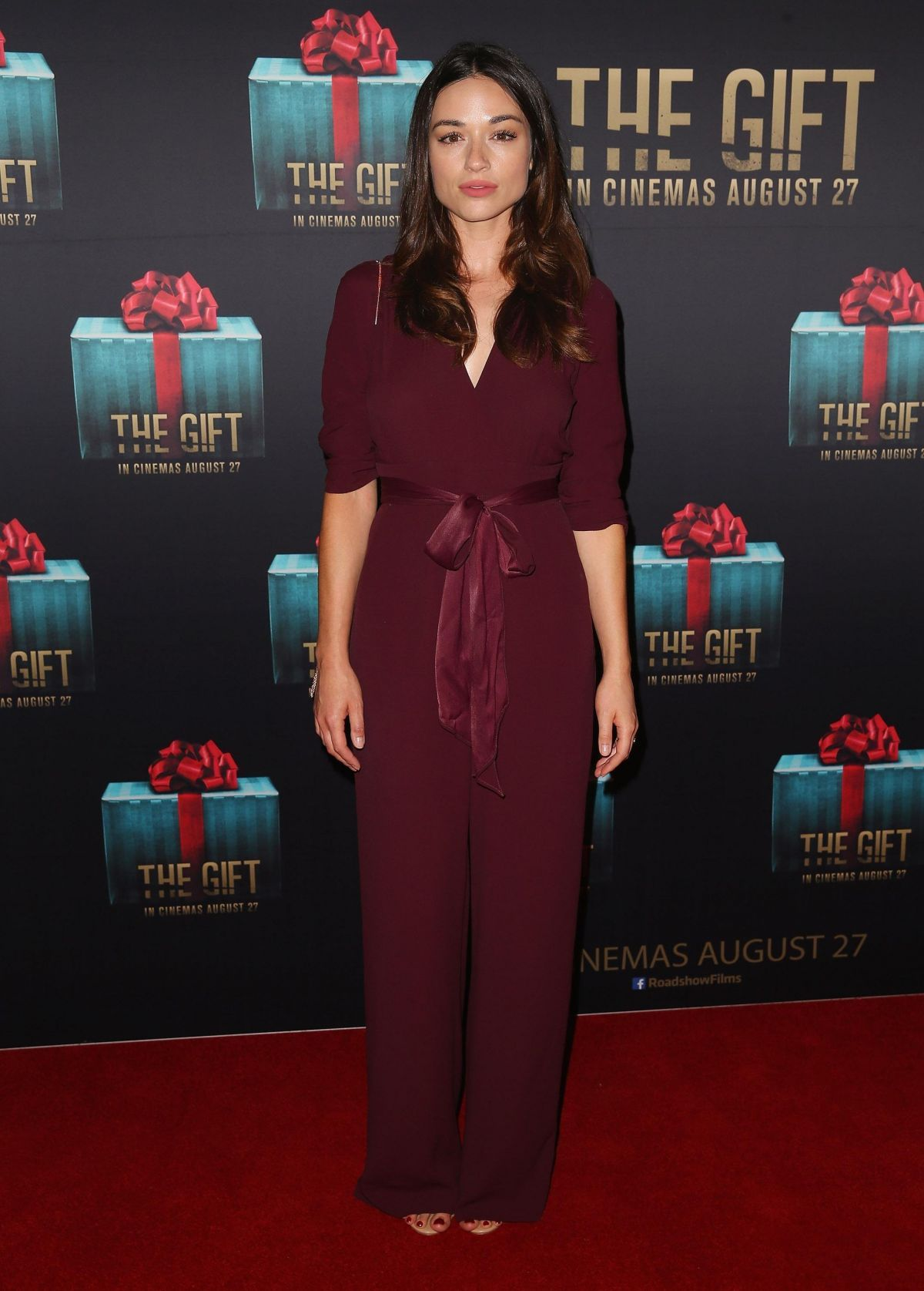 Crystal Reed at The Gift Premiere in Sydney
