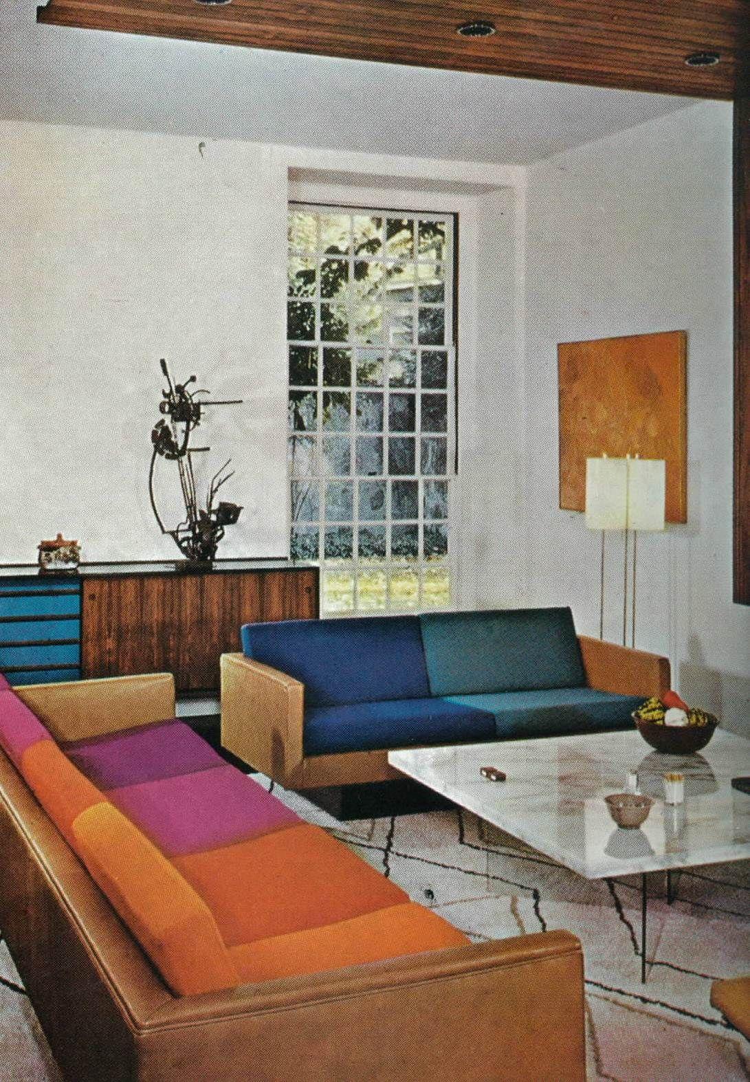 ja topanga sofa with custom cushions maison dcor rtro dcor des annes 1970