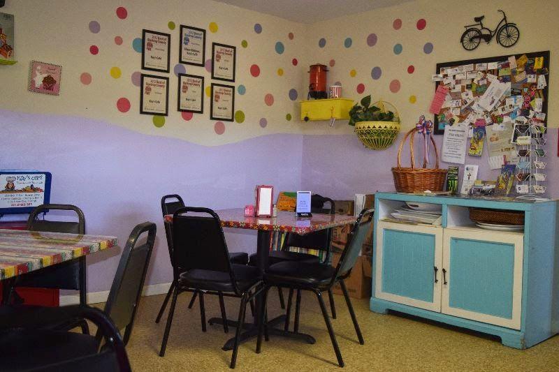 Kay's Café in Bastrop, Texas. #visitlostpines #Bastrop #Texas #eatlocal #lunch #café #retro #vintage