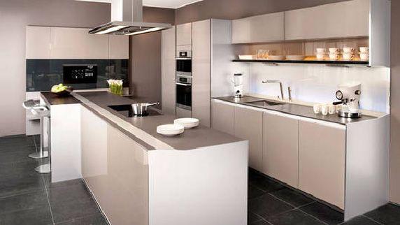 Afbeeldingsresultaat voor keuken inspiratie l vorm keukens ideeen pinterest open keukens - Open keuken ideeen ...