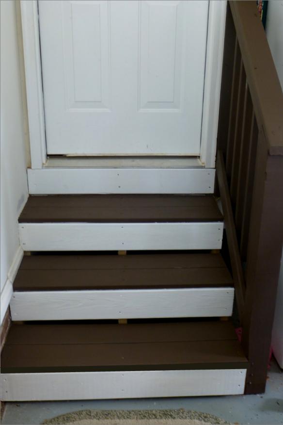 garage steps Garage steps, Garage stairs, Garage floor paint