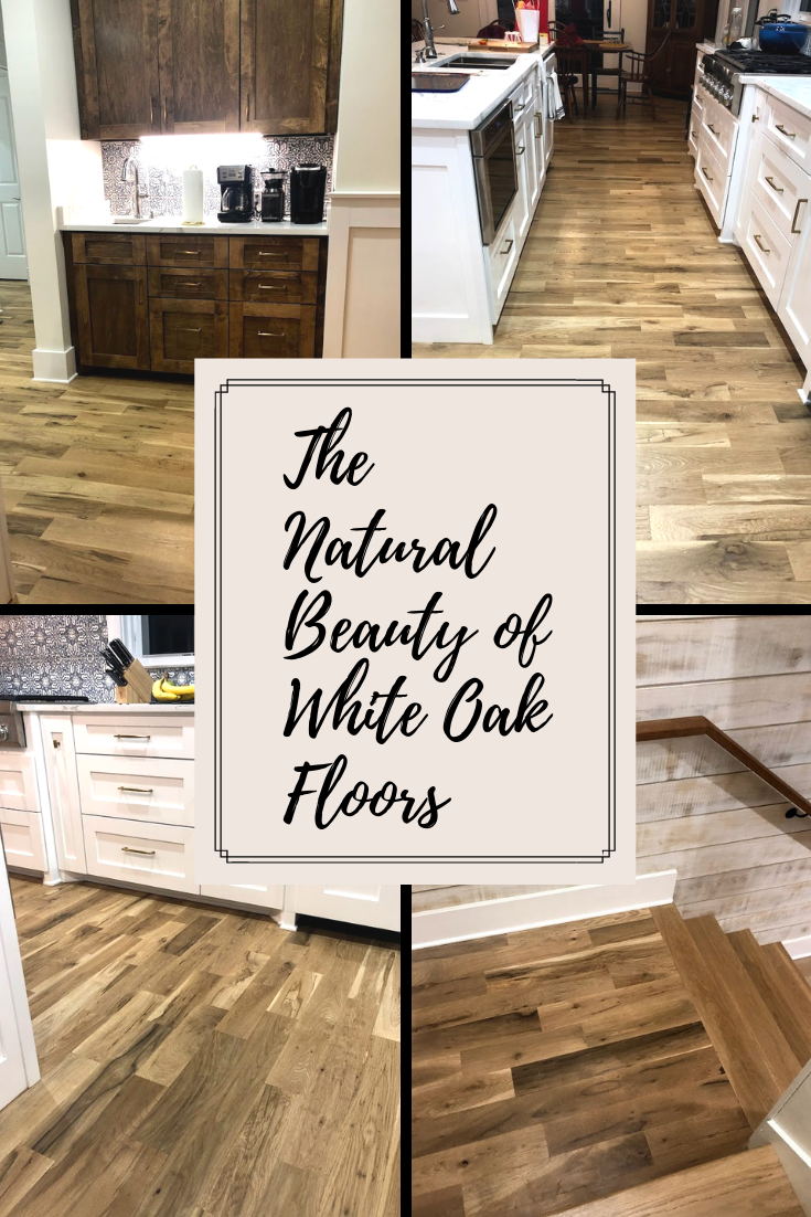 The Natural Beauty Of White Oak Floors Looks Amazing In This New Home This Is A Onsite Sand And Fi Flooring Flooring Inspiration Unfinished Hardwood Flooring