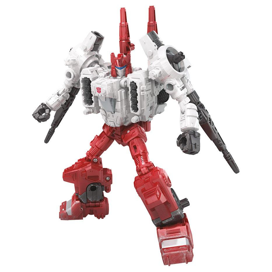 Transformers Siege Generations War for Cybertron Deluxe Sixgun Action Figure
