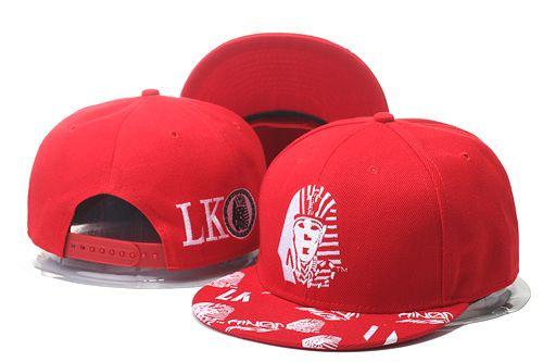 Last Kings Snapback Hats Red 0022 a2a31cb1bea