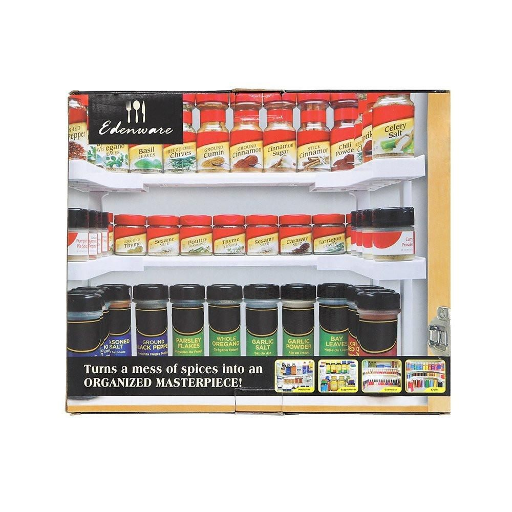 Edenware Spice Rack And Stackable Shelf New Edenware Spice Rack And Stackable Shelf  Kitchens  Pinterest Review