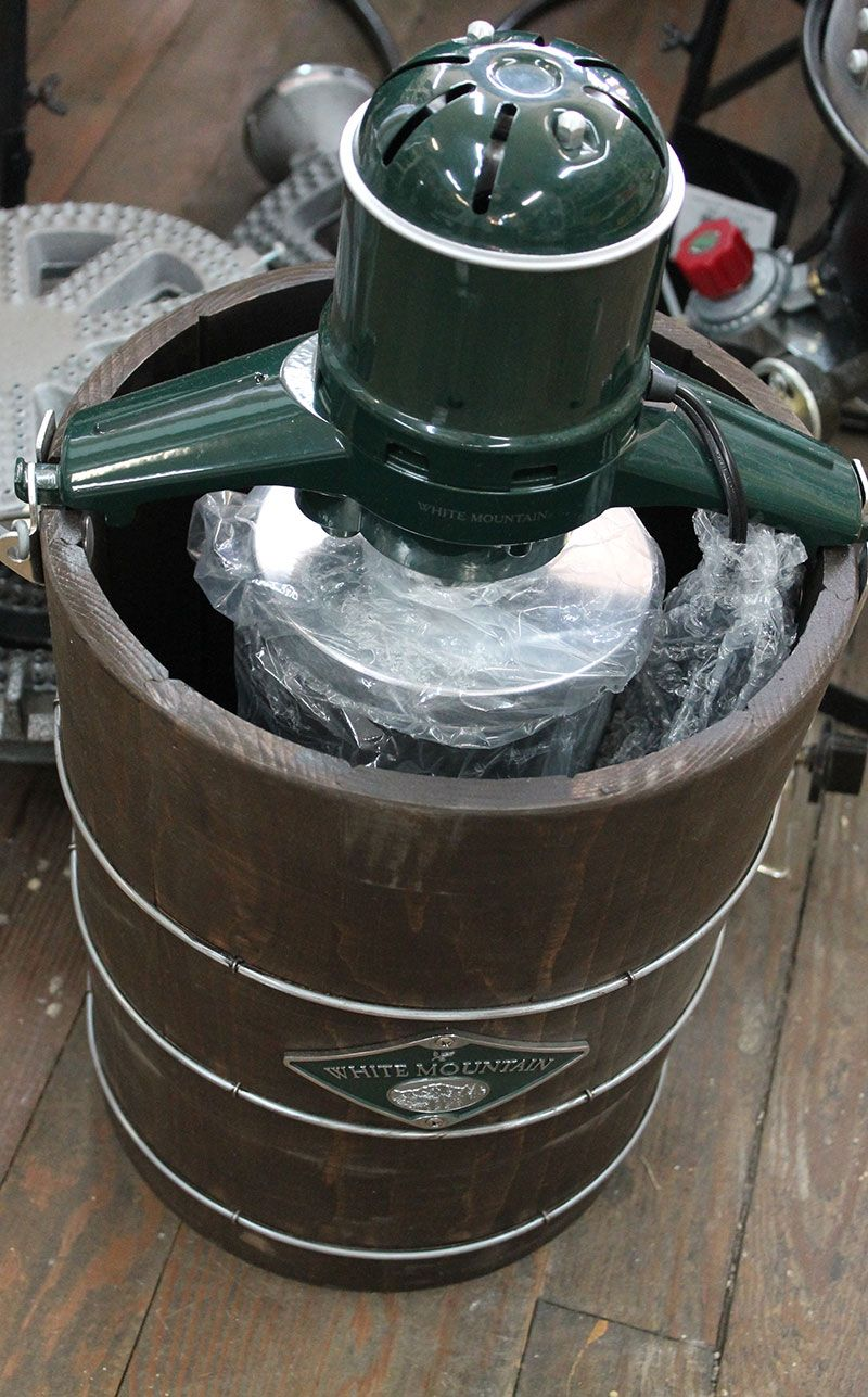 White Mountain Ice Cream Freezer Parts
