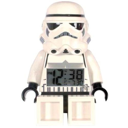 LEGO Star Wars Wecker - Stormtrooper  http://www.meinspielzeug24.de/lego-star-wars-wecker-stormtrooper  #Junge, #LEGOStarWars #Uhren/Wecker