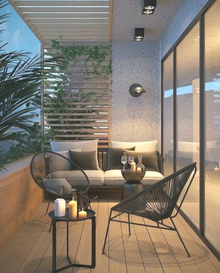 kleine Menge herbstliche luft mit dieser einladenden terrasse   SOPHIE LE #dekorationwohnung #terraceapartments