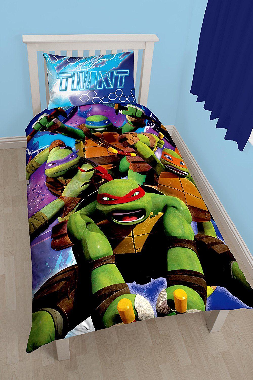 cool turtle bettwasche teenage mutant ninja turtles dimension panel print bettbezug set