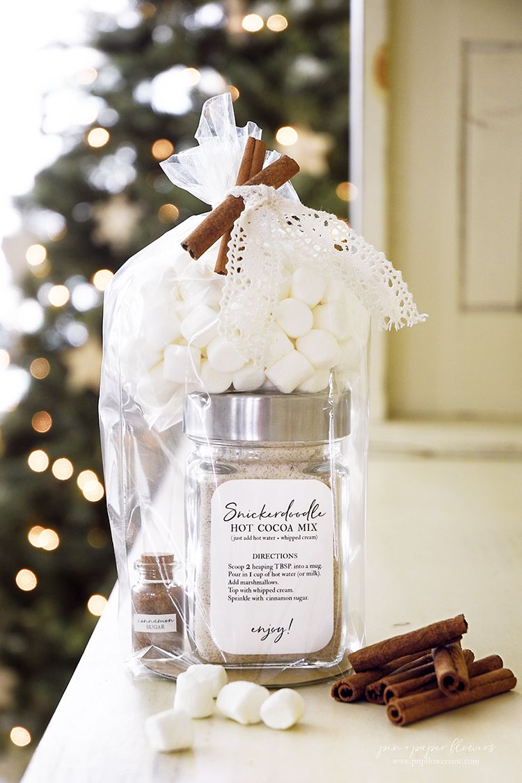 Pen + Paper Flowers: GIFT IDEA | Snickerdoodle Hot Cocoa Gift ...