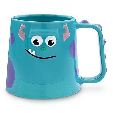 Connu Sulley Mug - Monsters, Inc. | Drinkware | Disney Store-I need this  CU65
