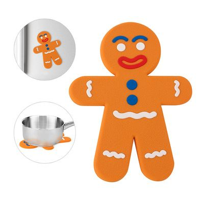 25694Trivet The Man magnetic silicone