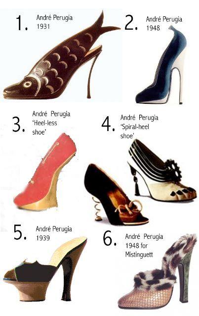 Andre Perugia Vintage Shoes Shoe Show Shoe Addict