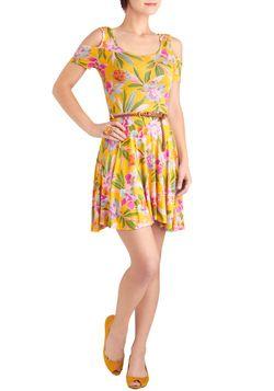 """Stay on Tropic Dress, #ModCloth    Because I never have """"aloha wear."""""""