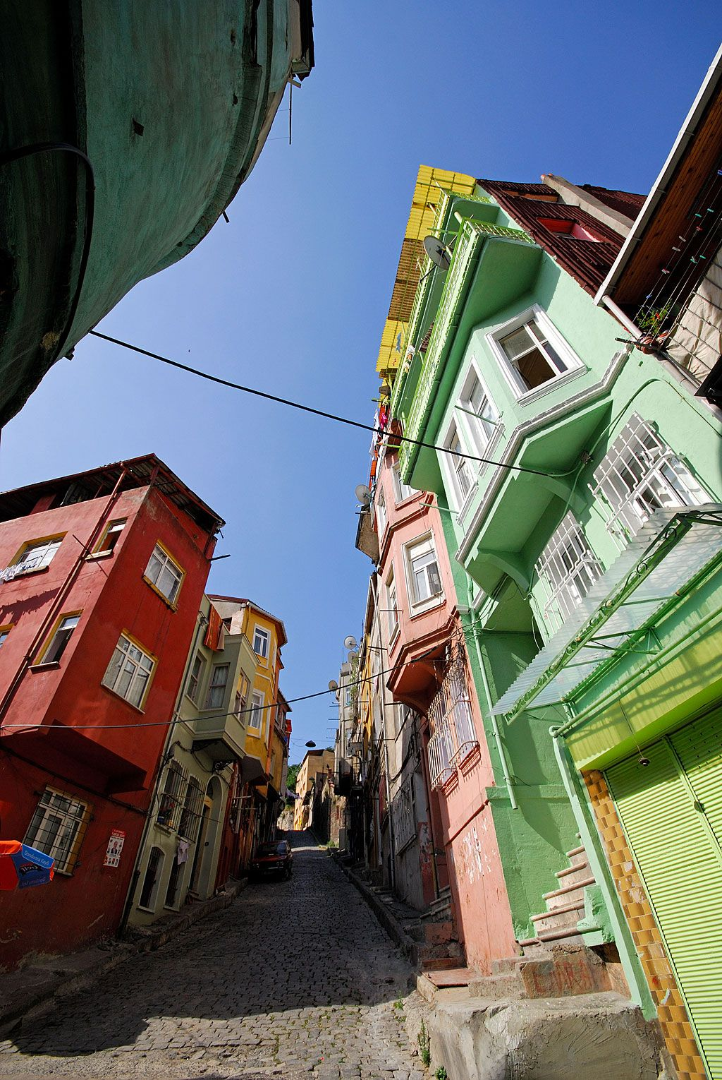 Balat, Istanbul, Jewish District #colorful