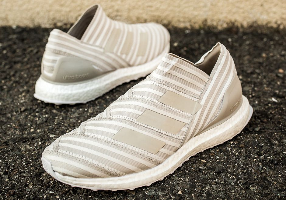 "#sneakers #news adidas Nemeziz Ultra Boost Releasing In ""Clear Brown"""
