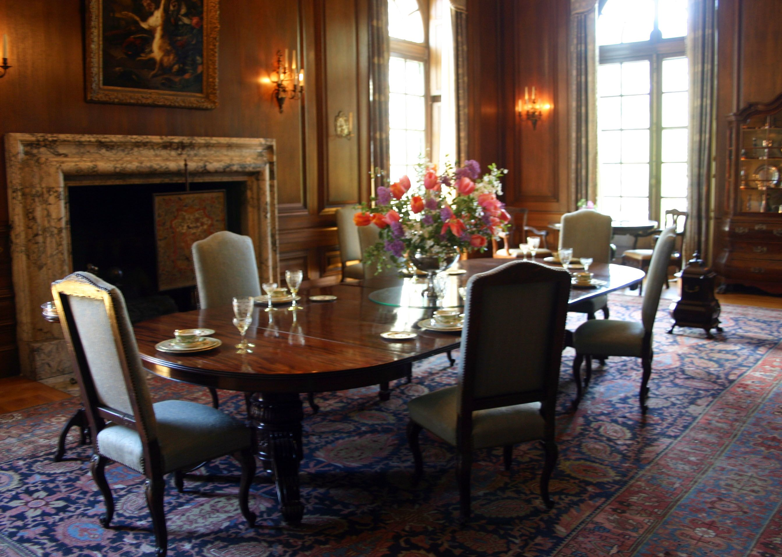The Majestic Dining Room At The Filoli Mansion Redwood City Ca Prepossessing Mansion Dining Rooms Design Ideas