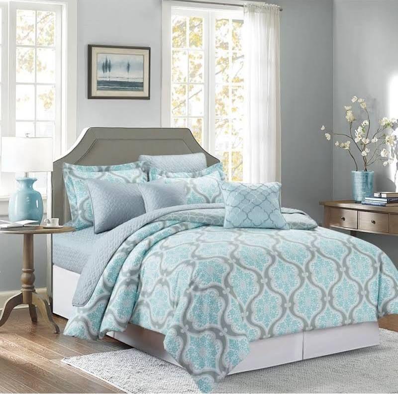 Light Blue Comforters Comforter Sets Bedding Set Light Blue