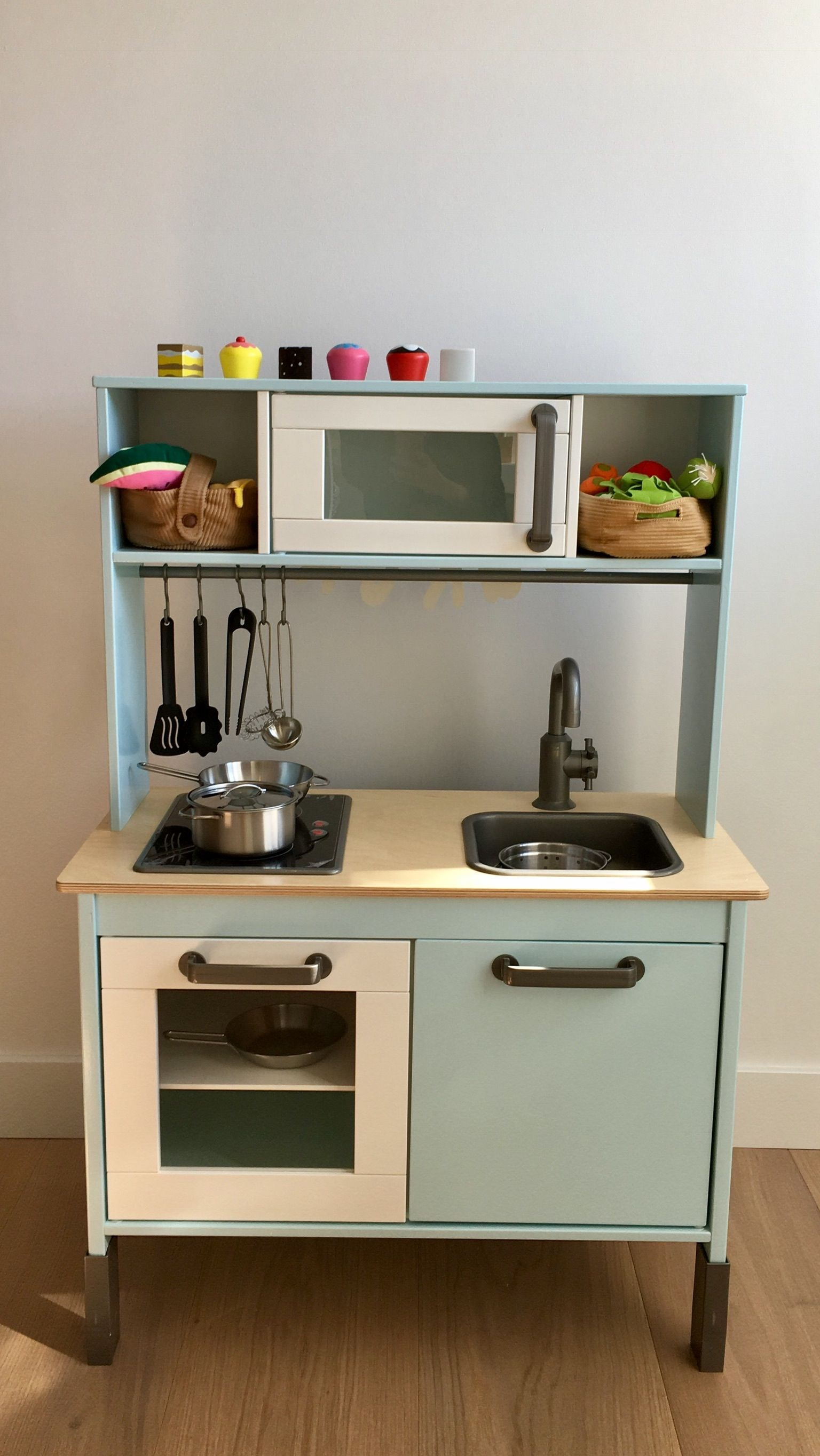 Keuken Decor Accessoires Ikea Duktig Keukentje Pimpen Play Kitchen Pinterest