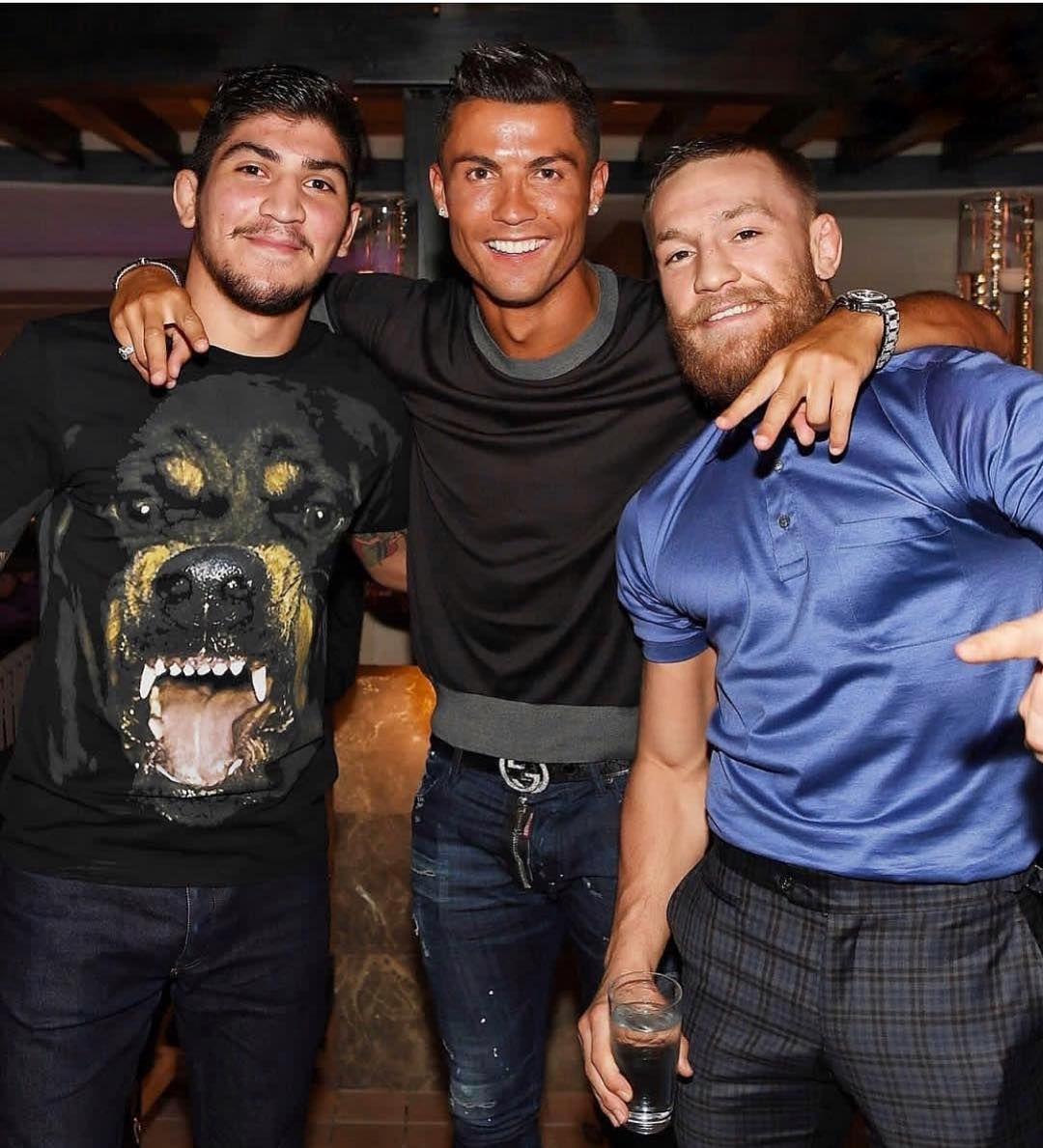 Conor Mcgregor Vs Khabib Brothers Thenotoriousmma Cristiano Dillondanis Cristiano Ronaldo Conor Mcgregor Dillon Danis