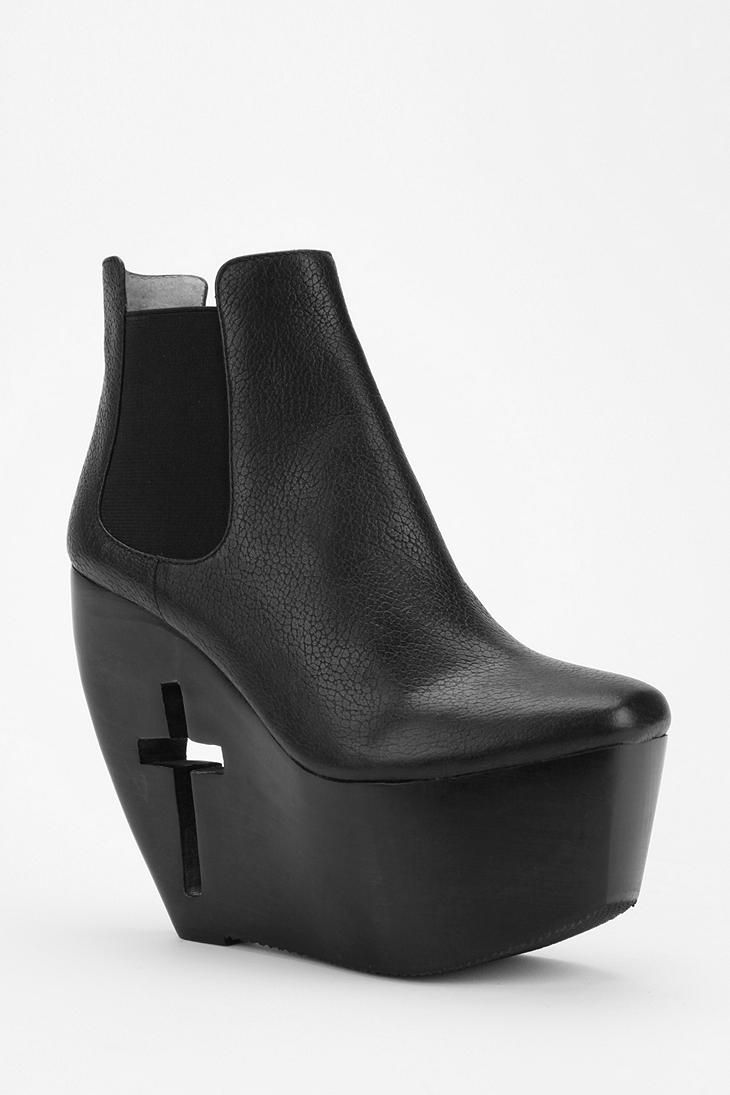 Carved and cutout. #urbanoutfitters #platform #boot