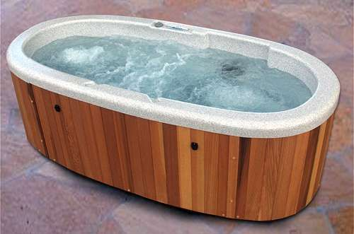 The Spa Depot Small Hot Tub Outdoor Tub Hot Tub Deck