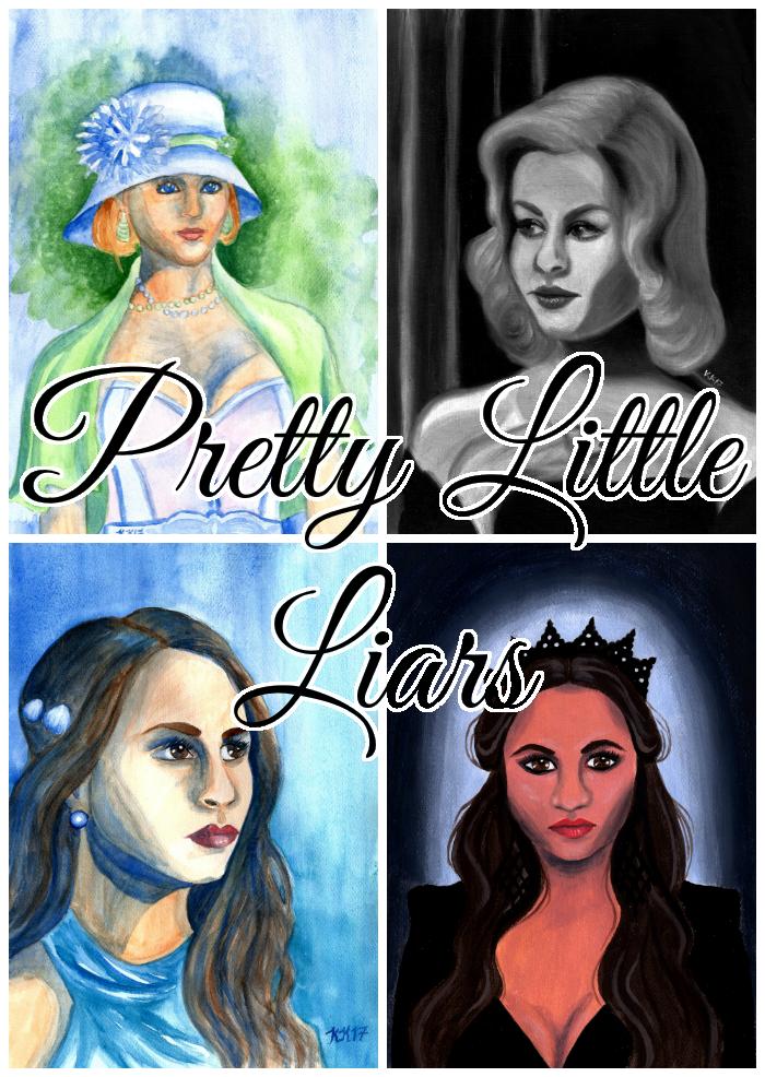 Pretty Little Liars Fan Art (With images) | Fan art, Art ...