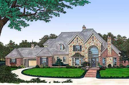 Enjoyable Luxury European House Plans House Design Ideas Largest Home Design Picture Inspirations Pitcheantrous