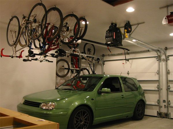 Hanging Bikes From Ceiling Spring Clean Pinterest