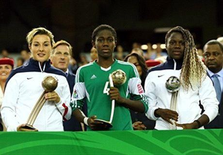 Asisat Oshoala wins 2014 Fifa U20 Women's World Cup Golden Ball