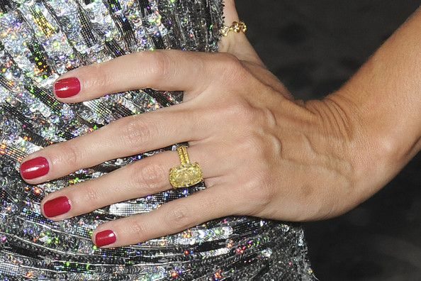 Heidi Klum Engagement Ring Celebrity Engagement Rings