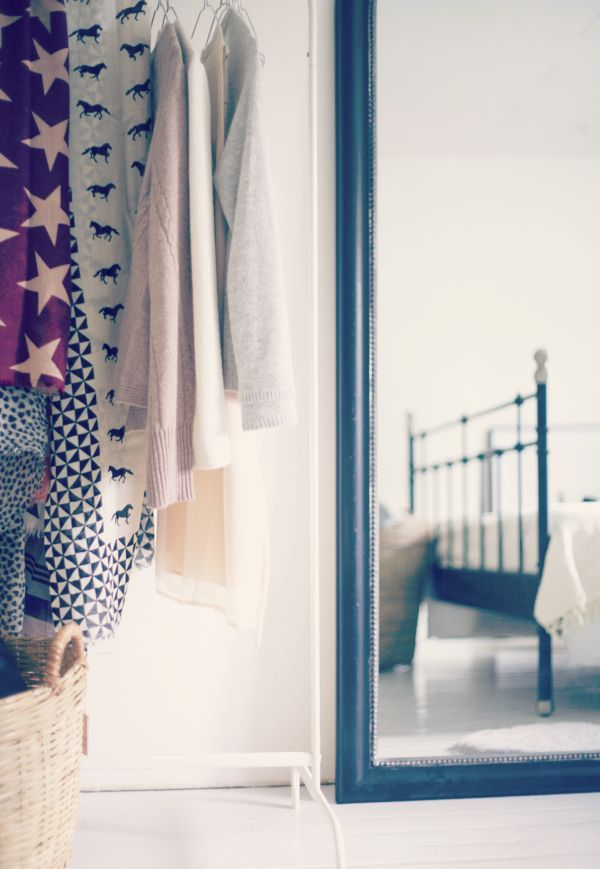 { walk-out closet } Uusi Kuu -blogi