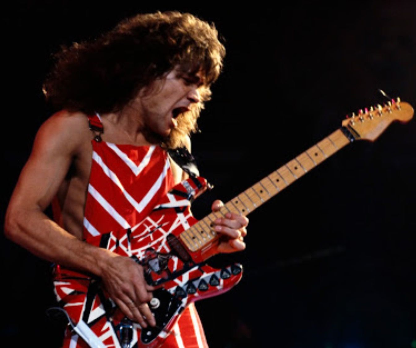 Eddie Van Halen S Frankenstien Van Halen Eddie Van Halen Best Guitarist