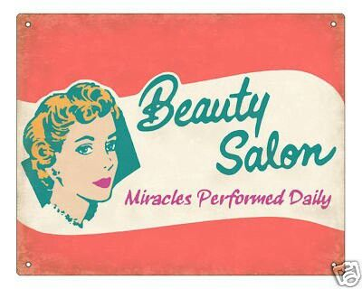 50 S Always Make Me Smile Vintage Beauty Salon Beauty Salon Vintage Salon