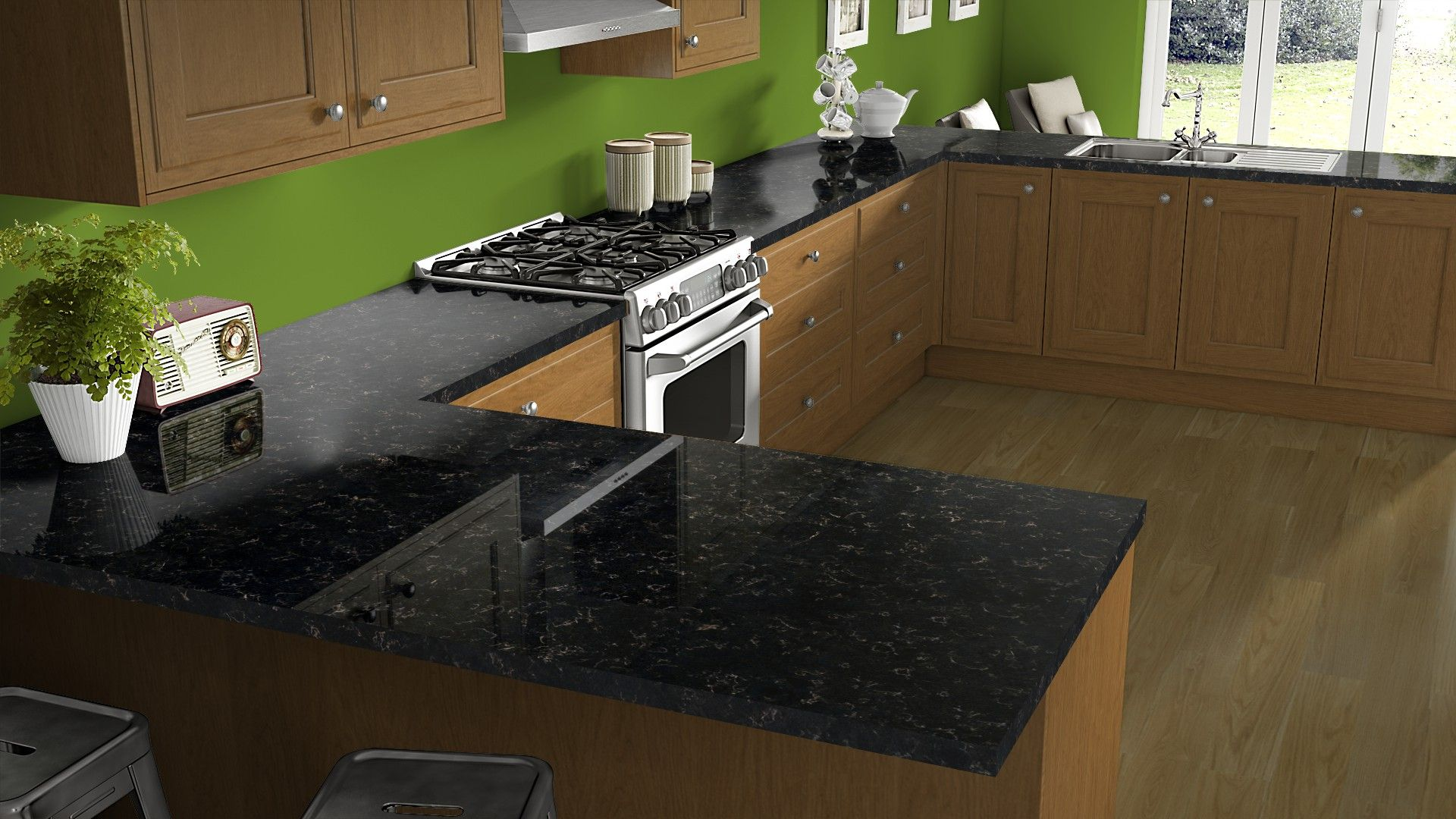 Xcaret High Gloss Finish Get Inspired For Your Kitchen